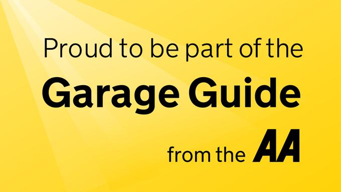 Proud To Be Part of the AA's Garage Guide