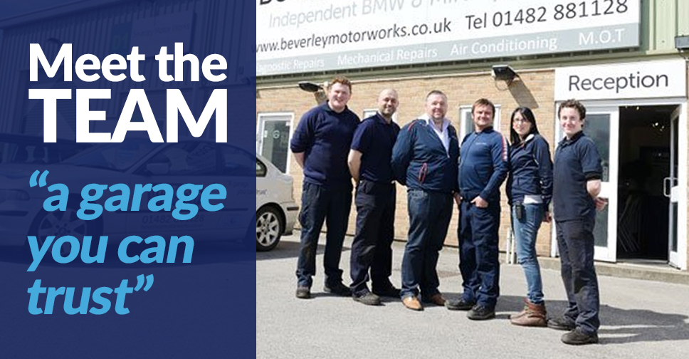Meet the Beverley Motor Works Team
